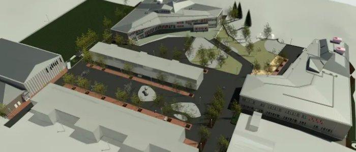 Veidekke bygger om skola i Stockholm