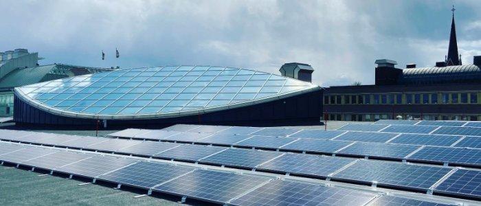 Här satsar Diös på solceller