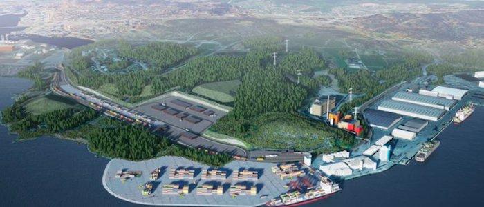 Peab bygger Sundsvalls nya logistikpark