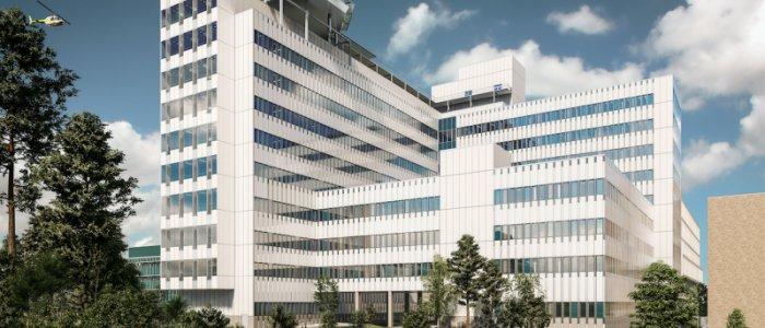 Ny vårdbyggnad planeras vid Danderyd