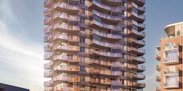 Serneke bygger 16-våningshus i Helsingborg