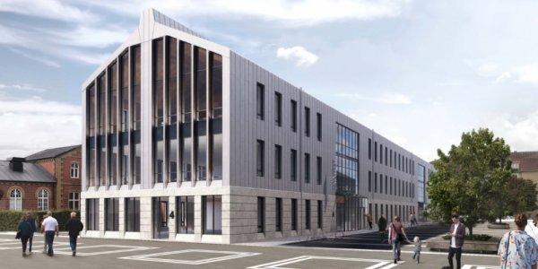 NCC bygger nytt kontor i Hässleholm