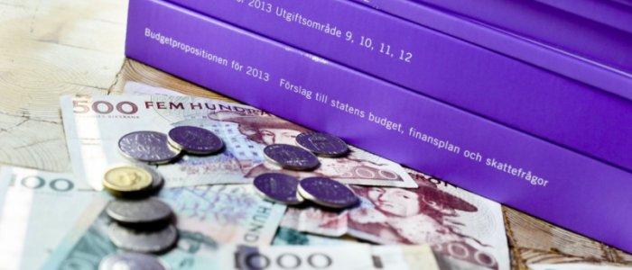 Överskott i statens budget i maj