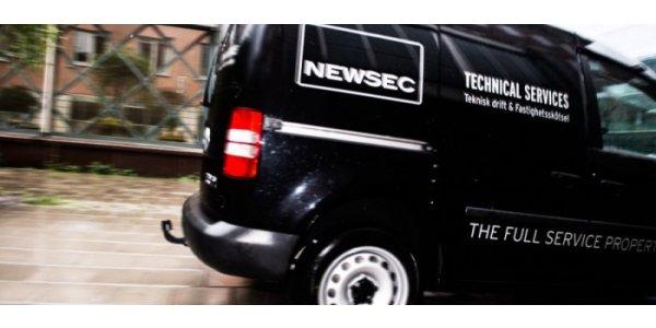 Så bygger Newsec organisationen