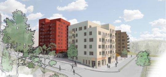 Riksbyggen bygger 120 bostäder