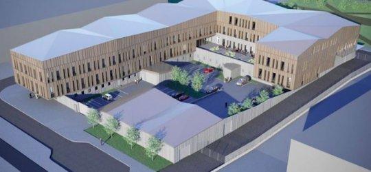 Peab bygger nytt polishus i Kiruna