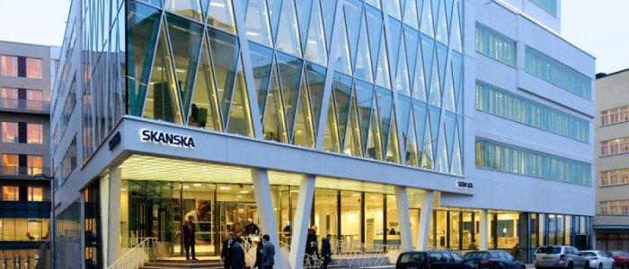 Skanska bygger kontor för 825 miljoner kronor