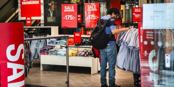 Fortsatt mörker för modehandeln