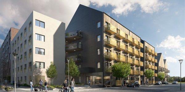 K2A bygger nya hyresbostäder i Örebro
