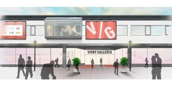 New Property utvecklar Visby Galleria
