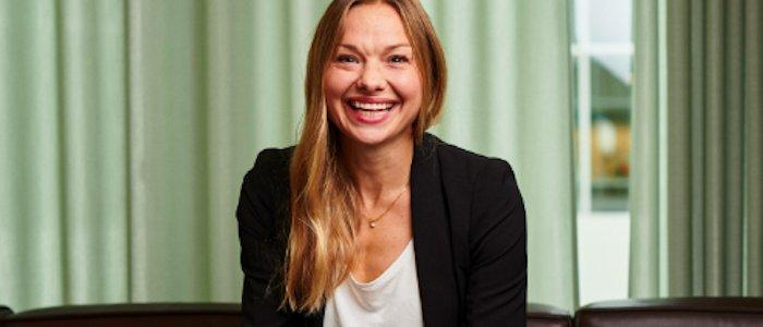 Hon blir ny partner på AG Advokat