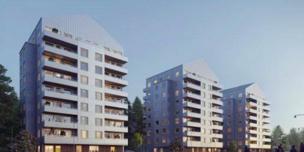 Stena bygger fler hållbara hem i Vega