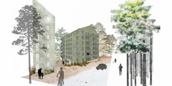 Veidekke bygger åt Aberdeen i Göteborg