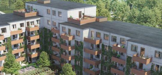 Veidekke bygger åt Nordr i Malmö