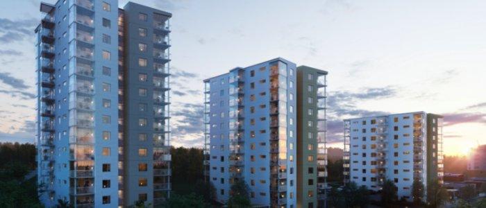 Peab bygger nya hyresrätter i Jönköping