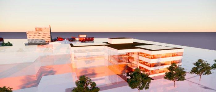 Diös bygger åt Pensionsmyndigheten i Luleå