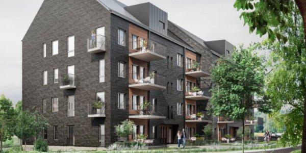 ByggPartner bygger hyresrätter i Gävle