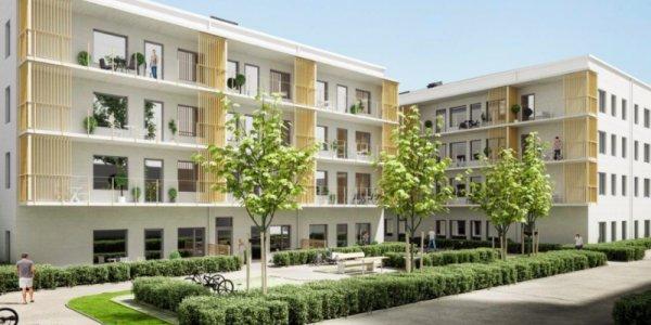 Här är Victoria Parks nya bostäder i Linköping