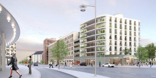 New Property utvecklar kvarter i Barkabystaden