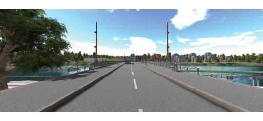 Peab bygger bro i Trollhättan