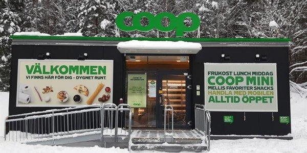 Coop lanserar obemannade butiker med Adapteo