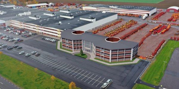 Väderstad bygger nytt fabrikscenter