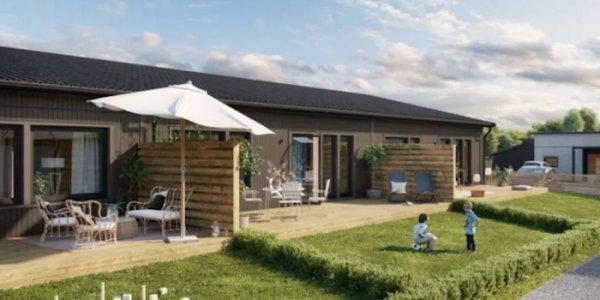 Säljstart för nya radhus i Färjestaden