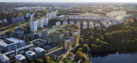 Spårområde förvandlas till nytt stadsrum