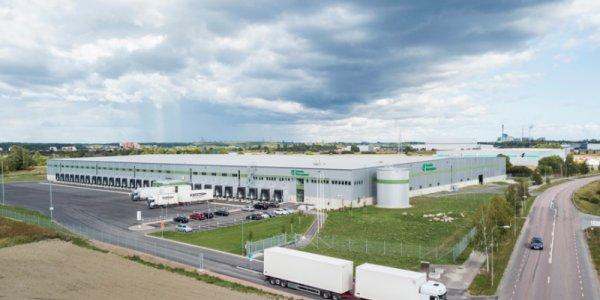 Logistic Contractor bygger i Västerås