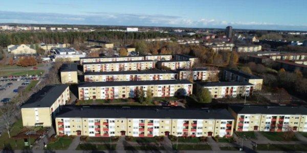 Riksbyggen storrenoverar i Uppsala