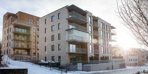 Cernera hårdsatsar på hållbara bostäder