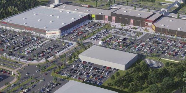 Amerikanska Costco till köpcentrum i Täby