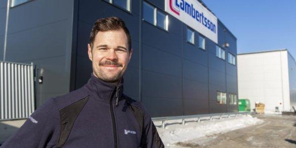 Diös hyr ut 16 000 kvadratmeter till Lambertsson