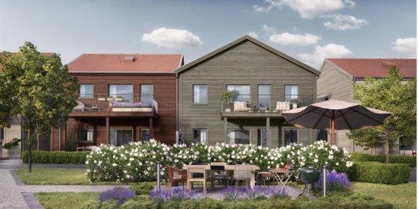 SHH och Balder utvecklar bostäder i Falun