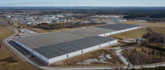 Norra Europas största lager nu ännu större