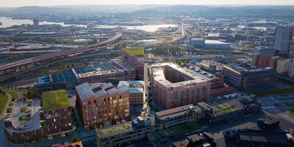Klartecken för utvecklingen av Gamlestadens Fabriker