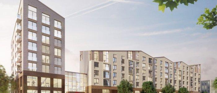 Nytt kvarter med ICA-butik och 258 lägenheter i Lund