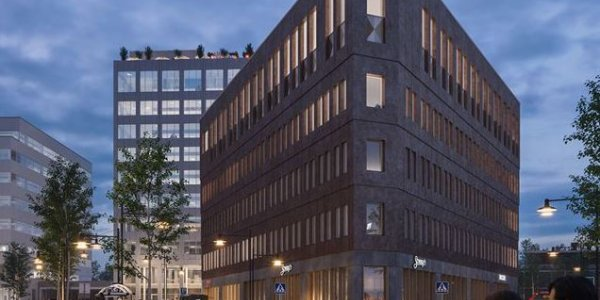 Peab fyller kontorshuset Ledvolten i Solna