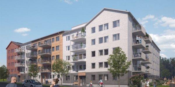 K2A köper bostäder för 158 miljoner i Umeå