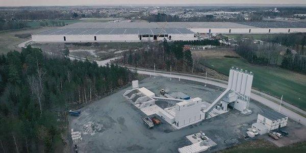 Mindre klimatpåverkan med Swerocks betong