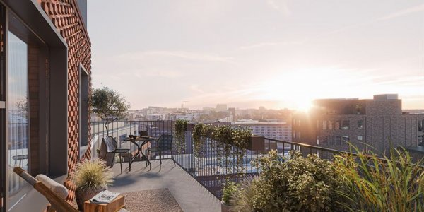 Aros bygger 99 bostäder åt MVB