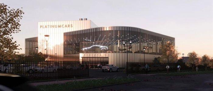 NCC bygger exklusiv bilhall i Helsingborg
