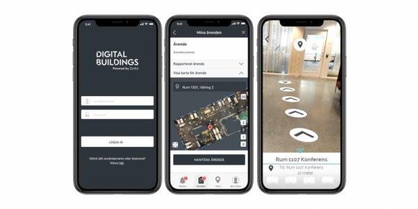 Zynka bygger digitala tvillingar åt Akademiska Hus