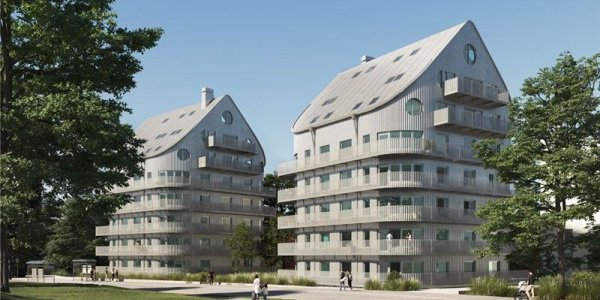 NCC bygger bostäder i Norrköping