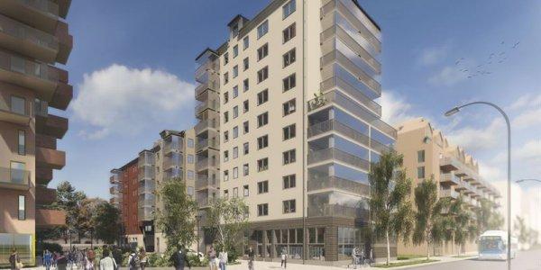 Peab bygger 183 bostäder åt Mimer