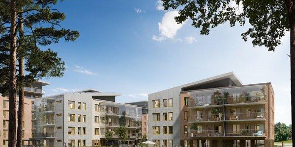 Serneke bygger fler lägenheter för HSB i Karlstad