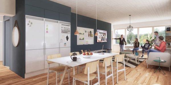 Akademiska omvandlar kontor till bostäder