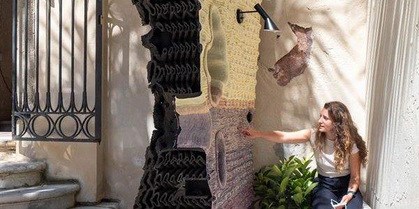 3D-printat från LTH på arkitekturbiennalen