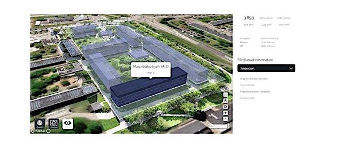 SkyMap visualiserar utomhusmiljöer för Zynka