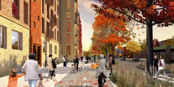 Fysiska och mentala barriärer ska rivas med planerna för Lorensborg och Bellevuegården